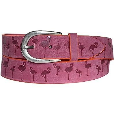 1484a14bc742 Vanzetti Damengürtel mit Flamingo Pink, Breite  3,5 cm, 90 cm ...