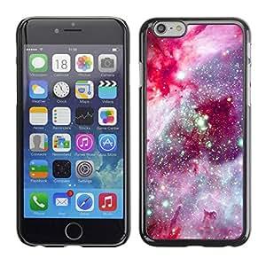 PC/Aluminum Funda Carcasa protectora para Apple Iphone 6 Plus 5.5 universe space pink purple cosmos star / JUSTGO PHONE PROTECTOR