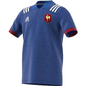 adidas Federación Francesa Camiseta de Equipación, Niños: Amazon.es: Deportes y aire libre