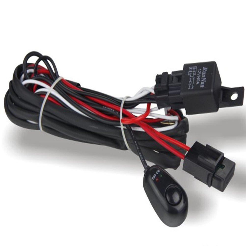 Amazon.com: Universal Wiring Harness for Off Road LED Light Bars Atv, Utv,  Truck, SUV 1vs2: Automotive