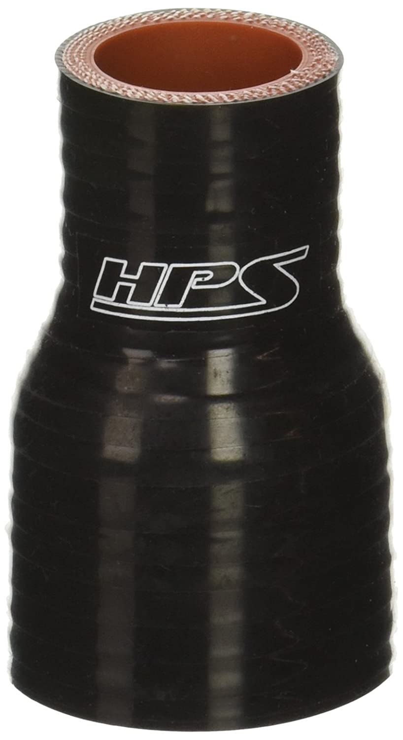100 PSI Maximum Pressure 5//8  1.5 ID Black 3 Length 5//8  1.5 ID HPS Silicone Hoses HPS HTSR-062-150-BLK Silicone High Temperature 4-ply Reinforced Reducer Coupler Hose 3 Length