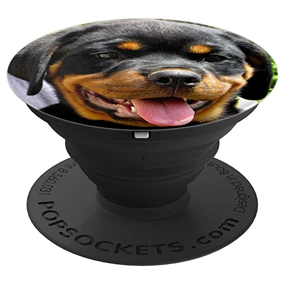 Amazoncom Rottweiler Rottie Popsockets Grip And Stand For Phones