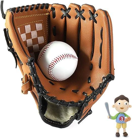 Guante De BéIsbol Left Hand Baseball Glove Guantes De Softbol para ...