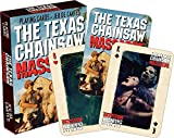 Play your favorite card game while wowing your friends with this full color deck of poker sized playing cards featuring 52 different images of Leatherface & the gang from the original Texas Chainsaw Massacre movie. The cards measure 2.5 x...