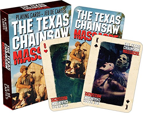 Aquarius Texas Chainsaw Massacre Playing Cards]()