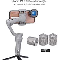 Accreate PT-10 Metal Counterweight for DJI Osmo Mobile 3 Counter Weight Gimbal Stabilizer Applied Balance to Moment Anamorphic Lens