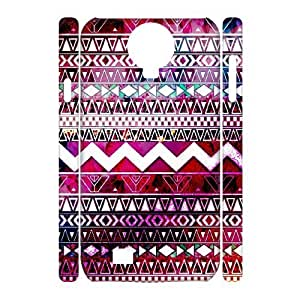Aztec Tribal Pattern Customized 3D Cover Case for SamSung Galaxy S4 I9500,custom phone case ygtg537701