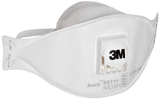 Flat 9211 3m Stapled N95 Particulate aad Respirator Aura 37193