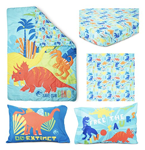 Jurassic World Save Our Dinos 4 Piece Toddler Bed Set 2