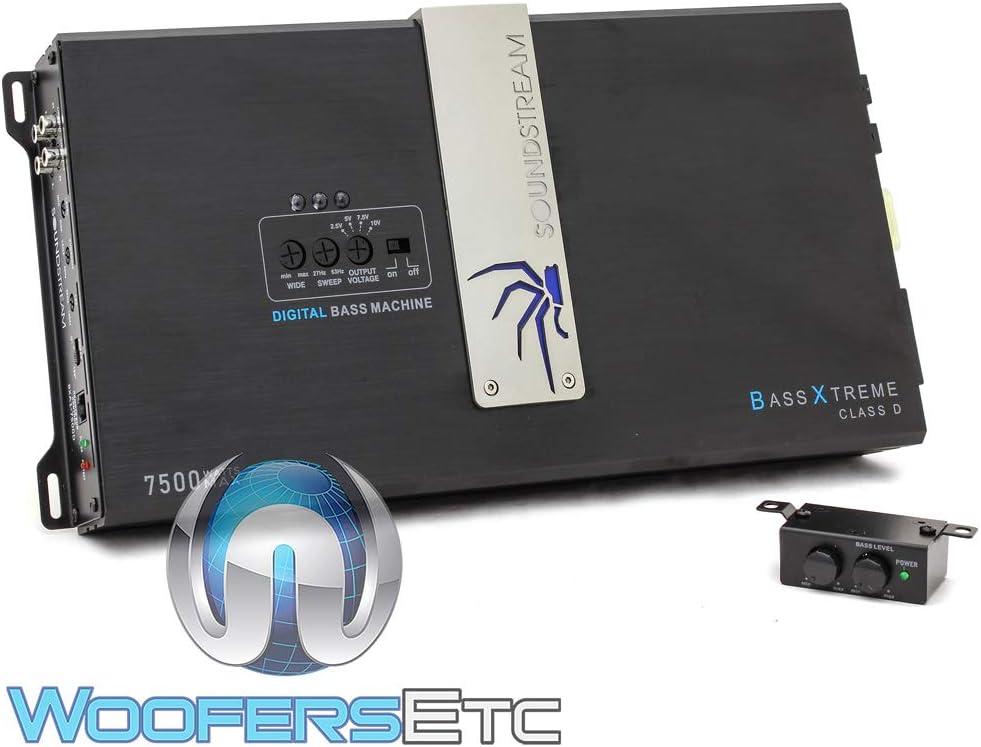 Soundstream BXA1-7500D 7,500 Watt Class D Monoblock Amplifier