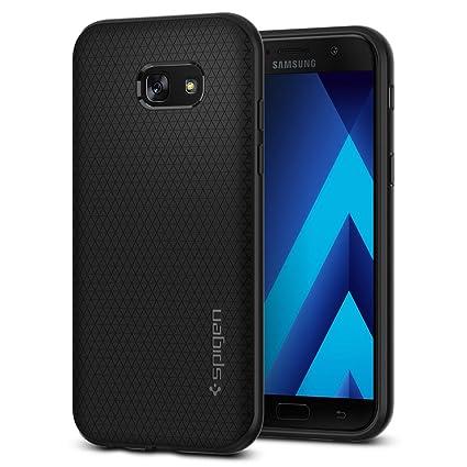 best service c6a6b 128df Galaxy A5 Case 2017, Galaxy A5 2017 Case, Spigen Liquid Air Armor - Durable  Flex and Easy Grip Design for Samsung Galaxy A5 (2017) - Black