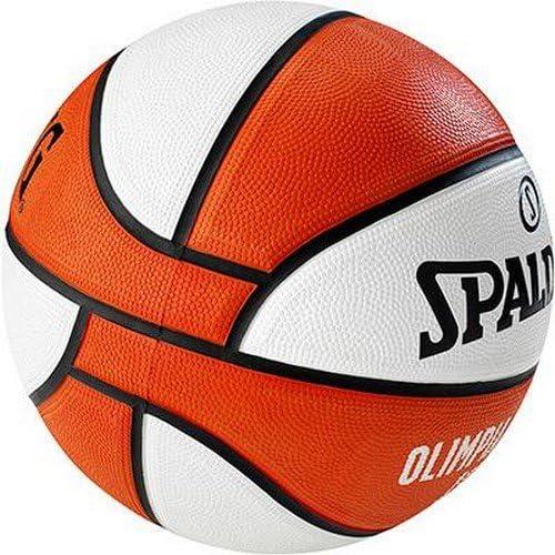 Spalding El Team Olimpia Milano Sz.7 (83-055Z) Balón de Baloncesto ...