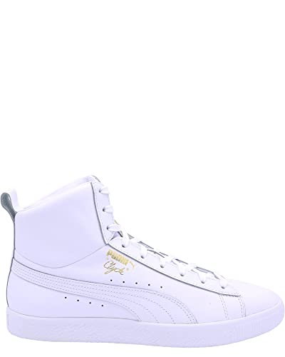 9d891974973 PUMA Men s Clyde Mid Core Foil White 7.5 D US  Amazon.co.uk  Shoes   Bags