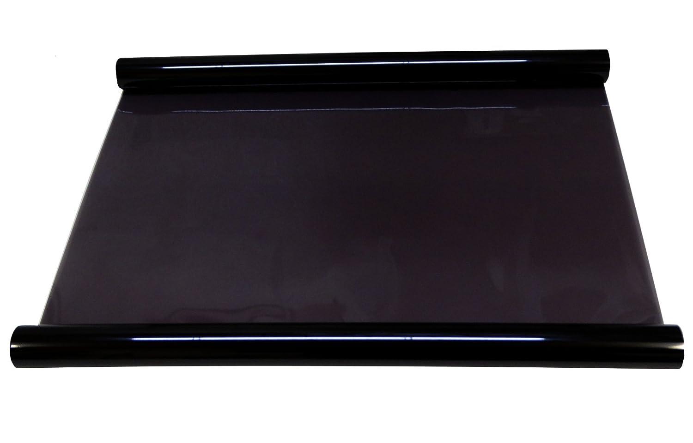 Aerzetix - 3 mètres 75 cm Film solaire teinté noir BLACK 25% pour vitre fenêtre auto voiture velux bâtiment