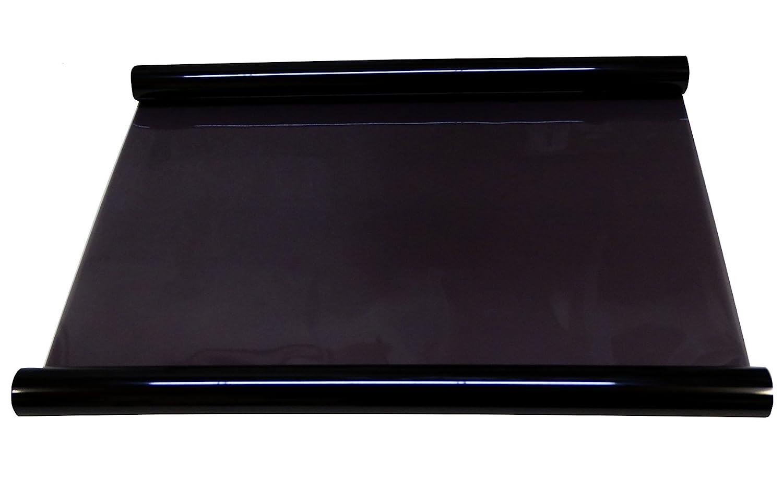 Aerzetix C4611x2 Pellicola Solare ambrata Ultra 5%, per finestrino, Nero, 6 m, 75 cm per finestrino 6m 75cm Aerzetiks Eood