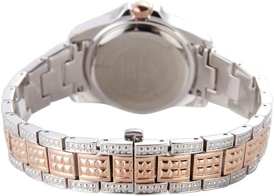 Mode Ladies diamant montre à quartz Or