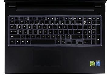 925562e21e3 Keyboard Cover Compatible Dell G3 G5 G7 15.6 inch Series, 15.6 inch Dell  Inspiron 15