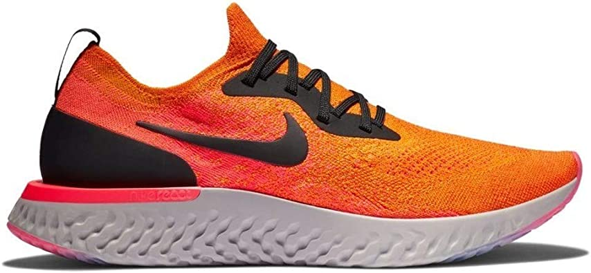 Nike Epic React Flyknit - Tenis de correr para mujer, Naranja, 12