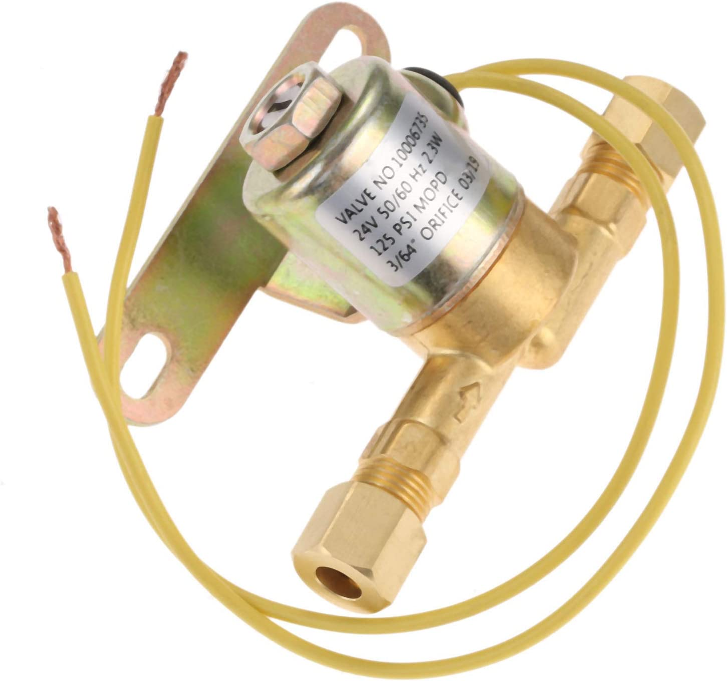 Humidifier A2012-S150 4040 Solenoid Valve, Replace Part # A2012-S118 B2035-S2 B2035-S5 B2035-S54, Replacement Part Fit for Aprilaire 112, 440, 550-A, 560-A, 568, 700, 760-A (24 V, 60 Hz AC, 125 PSI)