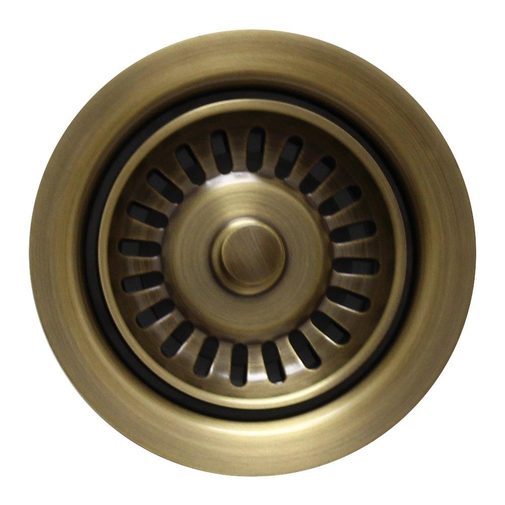 Whj7U #Whitehaus Collection WH200-ORB Kitchen Sink Disposer Trim//Basket Strainer Oil Rubbed Bronze
