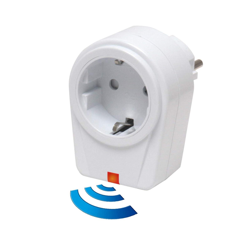 /Juego de cambios/ solidbasic/ 4/x mando a distancia /Interruptores de radio Juego de enchufes: 12/x enchufes inal/ámbricos /Color Blanco 4/de canal Plug /& Play/