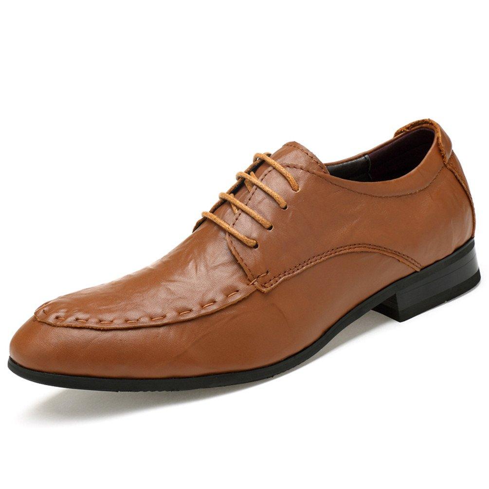 Ailishabroy Männer Schuhe Herren Business Schnüren Schwarz Schnürhalbschuhe