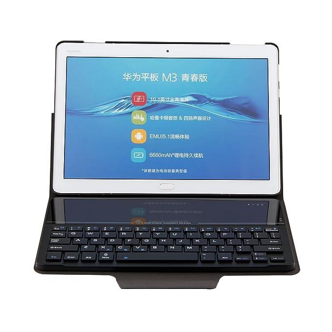 official photos 6a280 ae583 Amazon.com: Huawei MediaPad M3 Lite 10 Folding Smart Case, Huawei ...