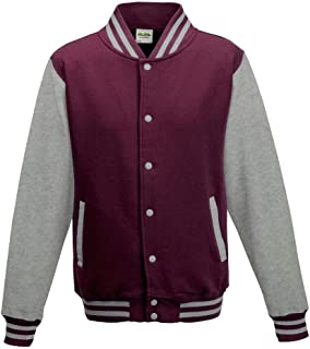 Just Hoods - Girlie College Jacke 'Varsity Jacket'