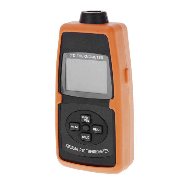 200/°C~600/°C Range High Precision Pt100 Platinum Single Probe Digital Thermometer