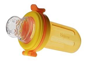 Kidsme Food Squeezer with Extra Sac, Orange