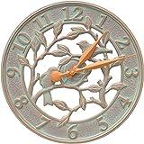 Whitehall Woodridge 16-in Indoor Outdoor Wall Clock - 02231