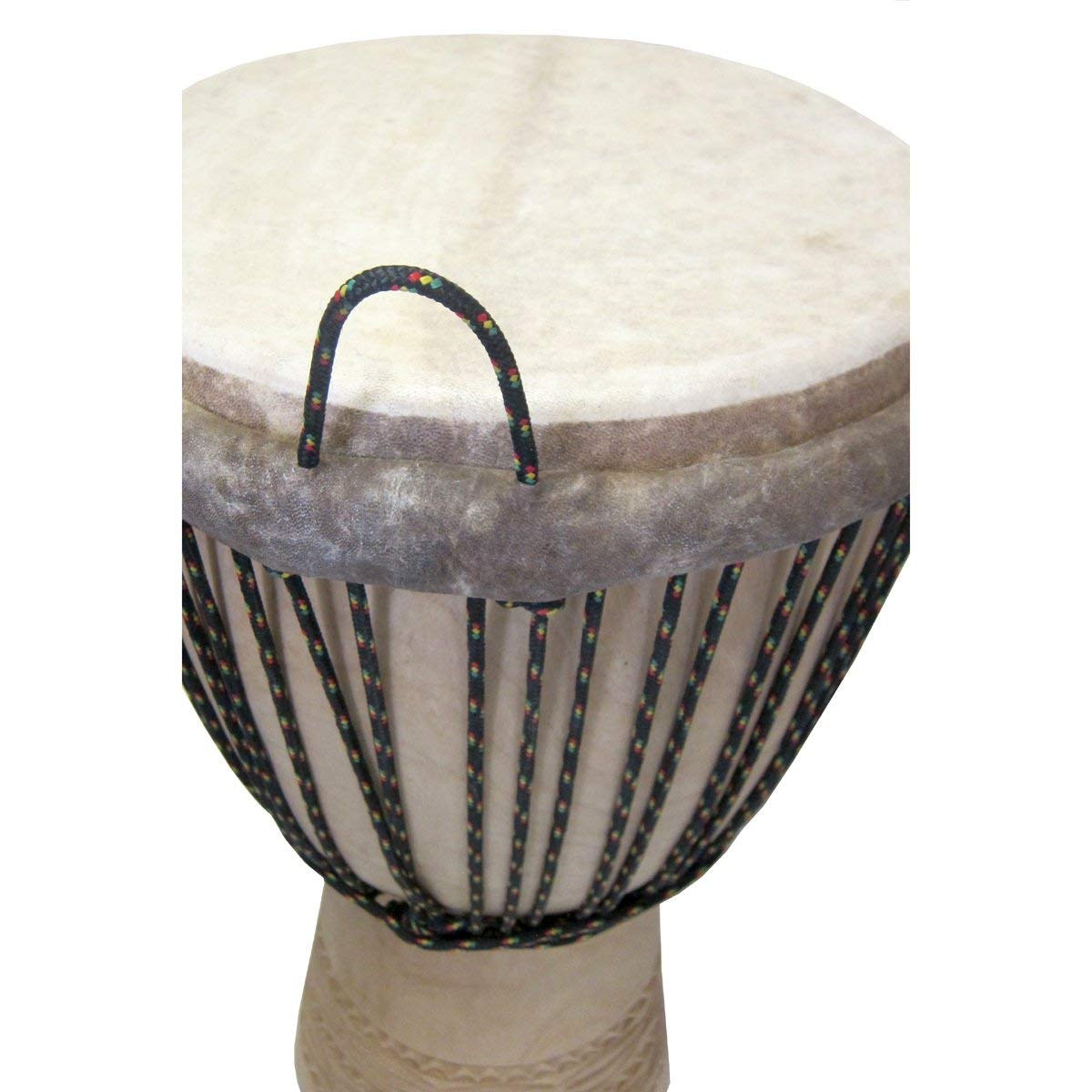 Paragon Heartwood Djembe Drum From Mali - 13x24 (Melina Wood) - Professional grade, Custom Tuned, New by Africa Heartwood Project by Africa Heartwood Project