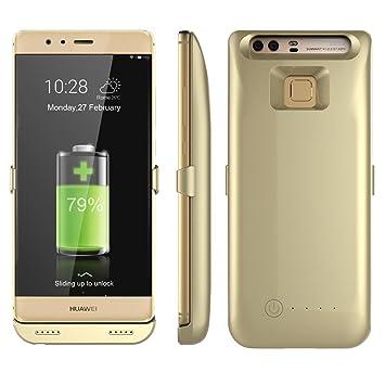Funda Batería Huawei P9 3800mAh Paquete de Cargador Portátil YFisk Recargable Extendida de Carga de Reserva de Energía Del Banco de La Cubierta ...