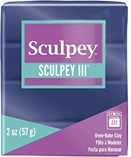 product image for Sculpey III Polymer Clay 2oz-Navy Pearl