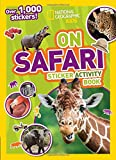 Best Books For Six Year Old Girls - National Geographic Kids On Safari Sticker Activity Book: Review