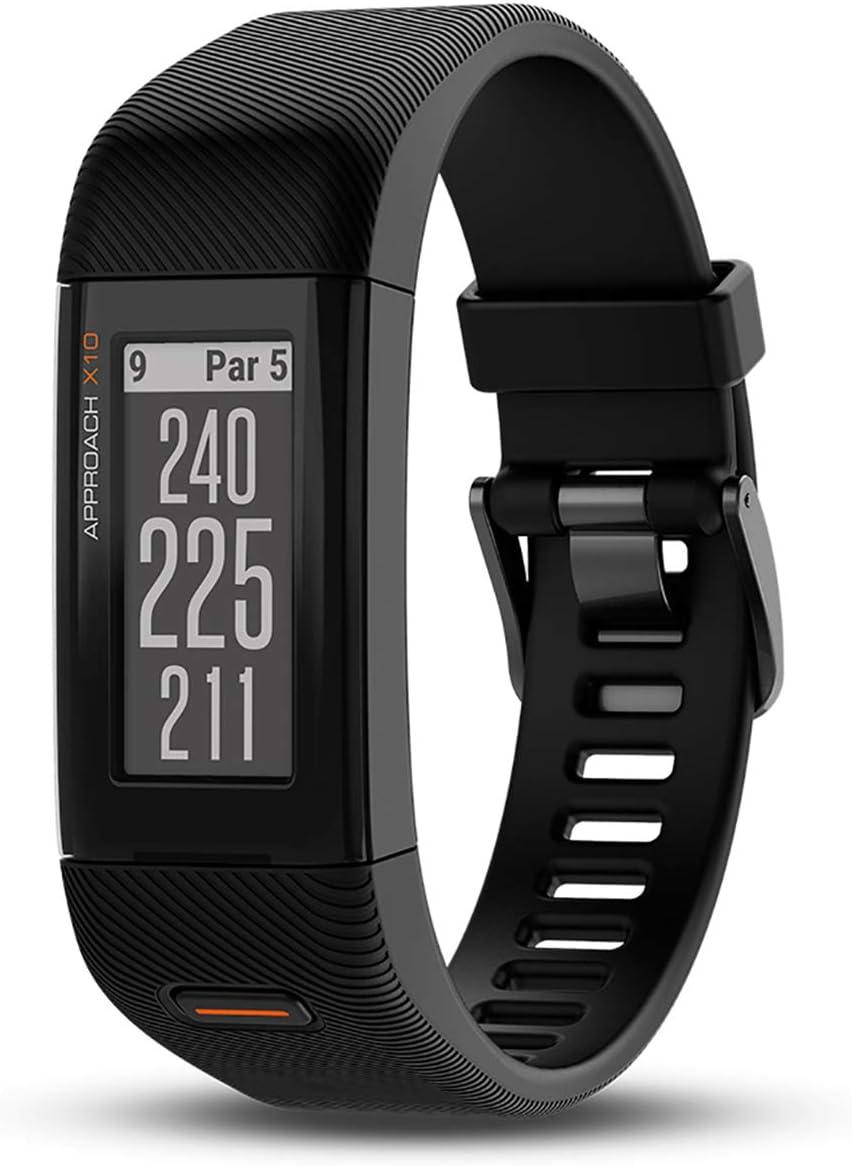 Garmin Pulsera Reloj Extragrande Approach X10 GPS Golf, Pantalla de 1, 0.03, Color Matte Black