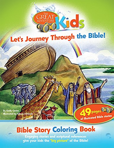 Great Adventure Kids Bible Story Coloring Book (Great Adventures: Kids)