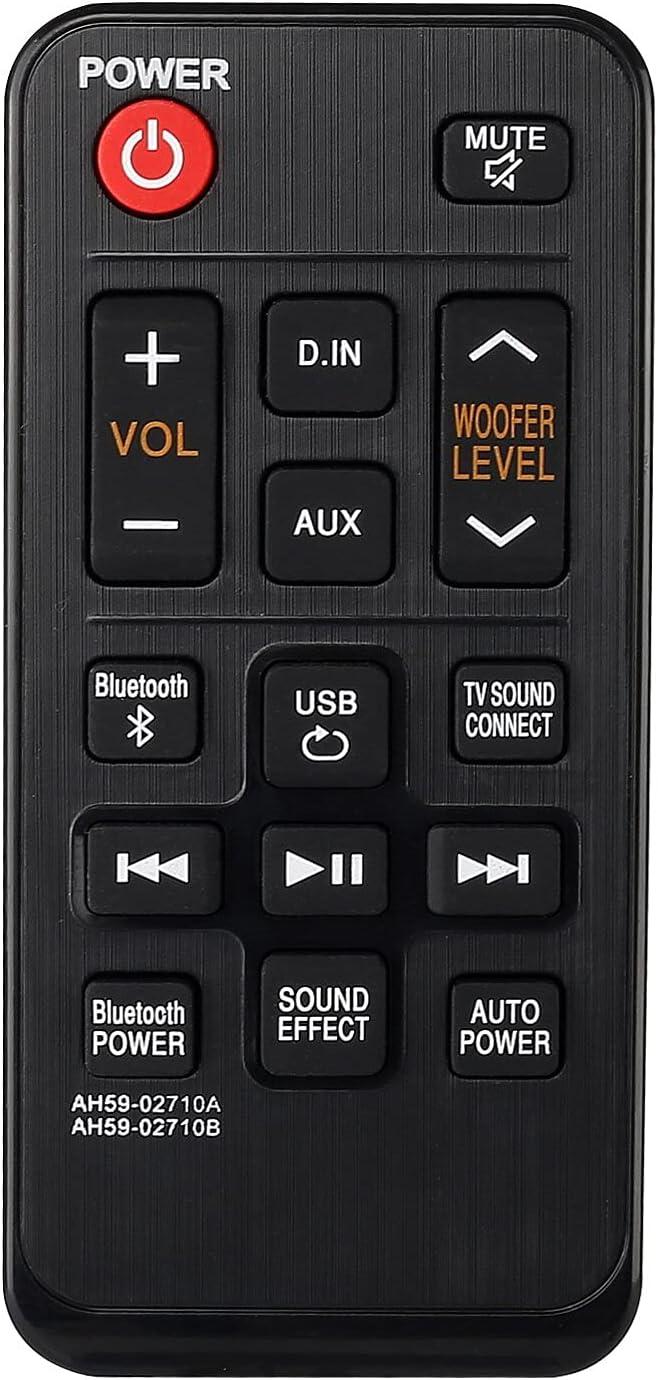Davitu Remote Controls - Remote Control AH59-02710B for Samsung Sound Tower System Home Speaker AH59-02710A HW-J250 HWJ250/ZA Controller
