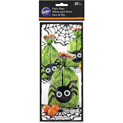 wilton halloween treat bags 20 count
