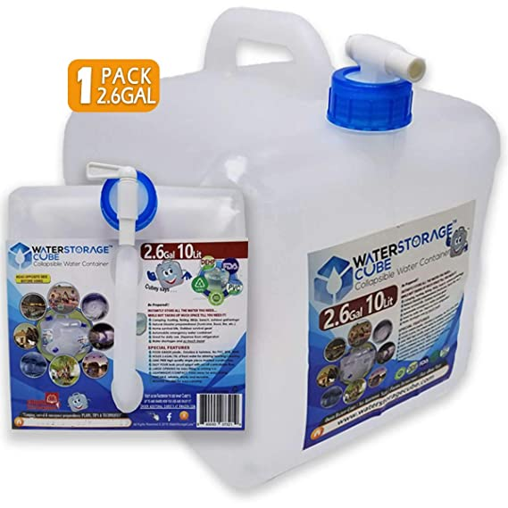 Waterstoragecube Bpa Free Collapsible Water Container 5 Gallon