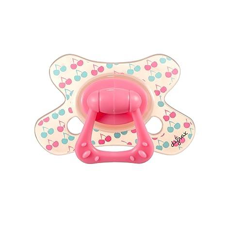 Difrax 346 - Chupete Dental B03 Para Niñas De 12 Meses Rosa ...