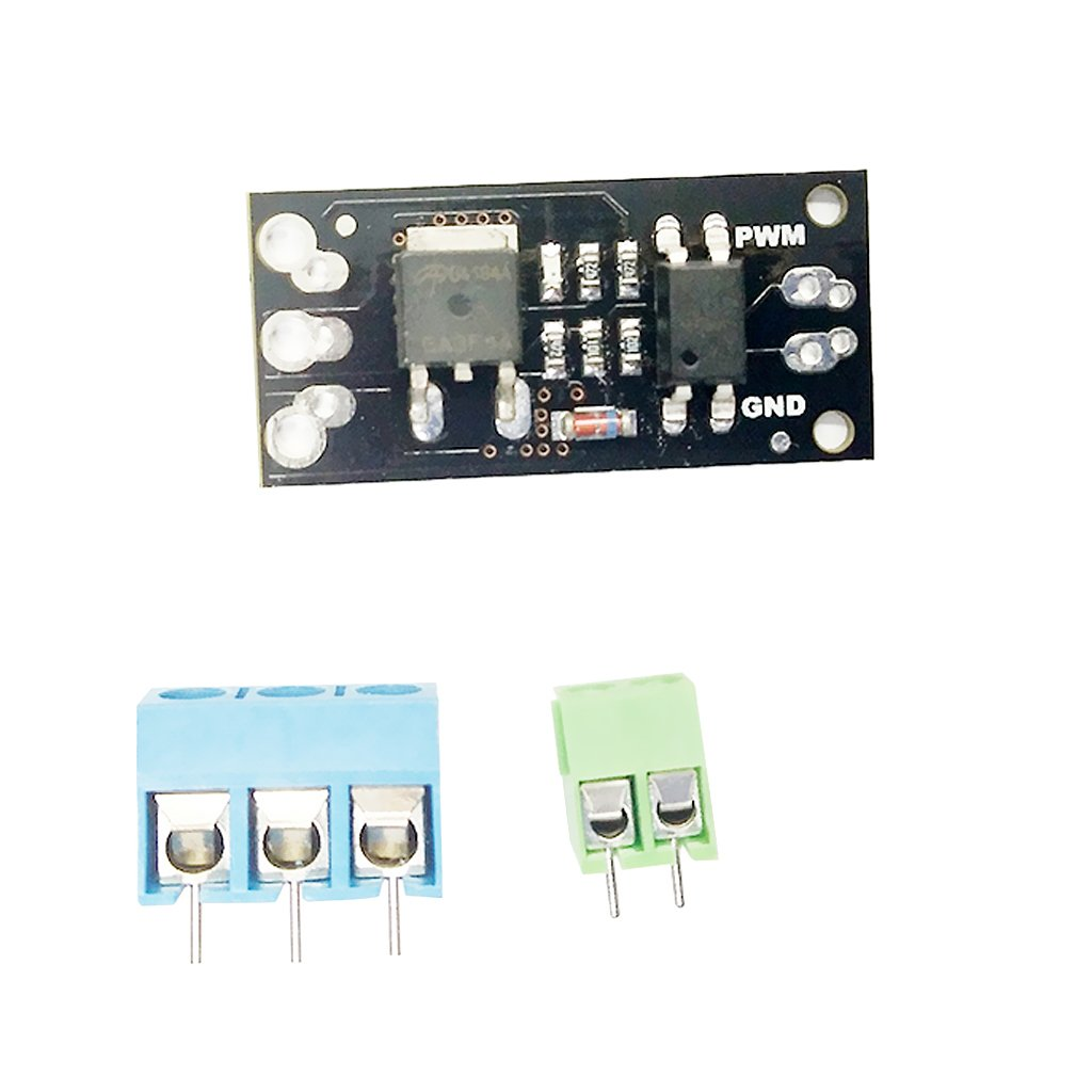 MagiDeal Field Effect Module Motor Driver AOD4184 With Terminal Pins For Arduino