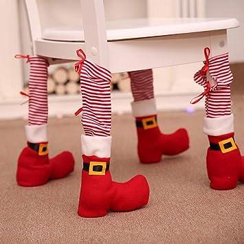 4pcs Elf Chair Leg Cover Nonwoven Fabric Table Leg Protector Elf