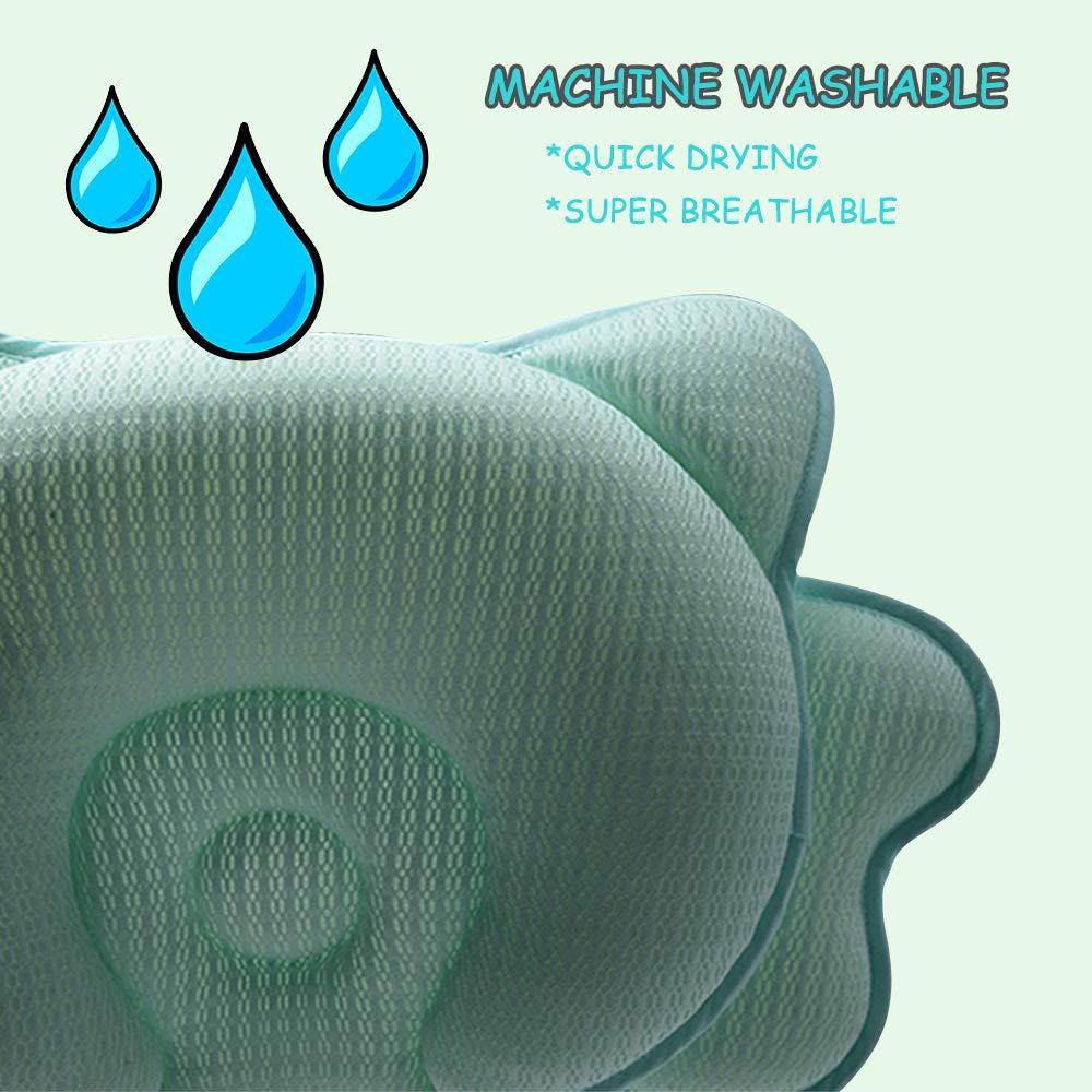 Amazon.com: Almohada para bebé recién nacido, transpirable ...