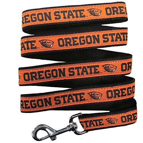 Pets First Collegiate Pet Accessories, Dog Leash, Oregon State Beavers, Medium