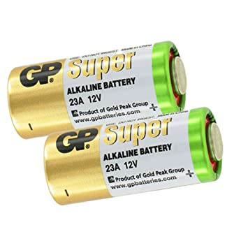 Image Unavailable. Image not available for. Color  GP 23A alkaline 12V  Batteries ... 76b1be3764d53