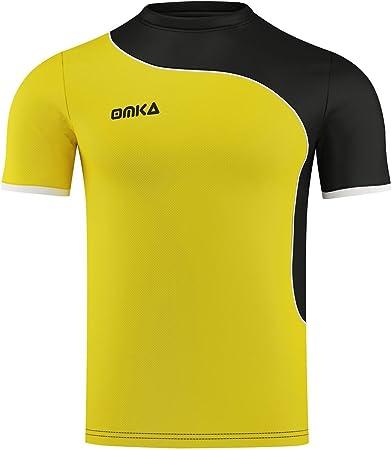 OMKA Camiseta de fútbol Team Wear Uniforme Camisa Fan ...