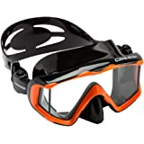 Cressi PANO 3, Large Wide View Mask for Scuba Diving & Snorkeling - Cressi Quality Since 1946