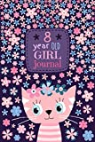 8 Year Old Girl Journal: Cute Cat Diary for Kids to Keep Memories
