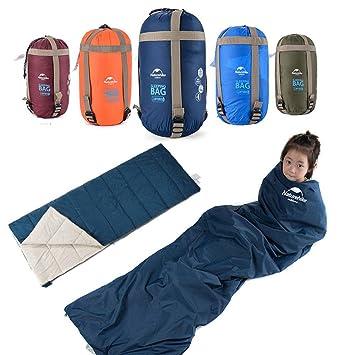 niceEshop TM NatureHike Saco de Dormir Compresible Acampar al Aire Libre (Azul de Cielo): Amazon.es: Deportes y aire libre